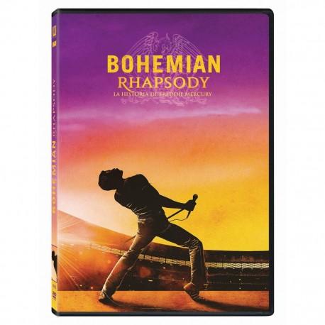 Bohemian Rhapsody: La Historia de Freddie Mercury Pelicula DVDFOX