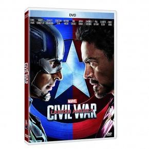 Capitán América: Civil War DVDMarvel