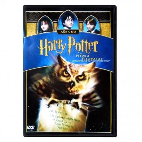 Harry Potter y La Piedra Filosofal (Año 1) Pelicula DVDWarner