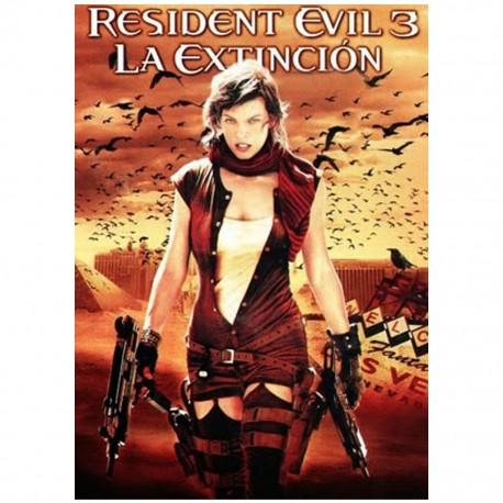 Resident Evil 3 La Extinción Película en DVDDavis Films