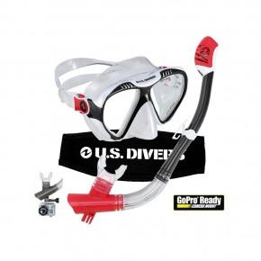 Set de Visor y Snorkel Magellan de Silicón U.S Divers USDMAGEU.S. Divers