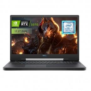 Computadora Portátil  DELL G717VU_I7N16125670W10S_120 - Intel i7 8750H, 16 GB, 17.3 pulgadas, NVIDIA® GeForce RTX™ 2070, Wind