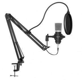 Redlemon Micrófono Condensador Profesional Aux 3.5mm con AccRedlemon