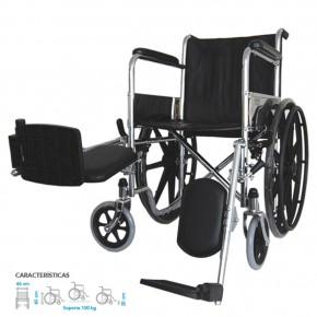 silla de ruedas con elevapiernasDaonsa
