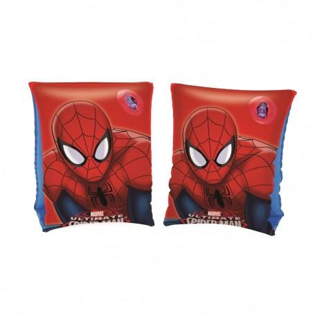 Par de Flotadores de Brazo Inflantil Estampado Spiderman Color Rojo BestWayBestway