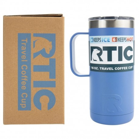 Taza Térmica Coffee Cup 16 oz./473 ml. Lila Mate RTICRTIC