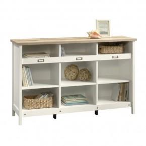 Librero Sauder Adept storage estilo modernista en color blancoSauder